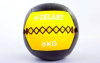 Мяч медбол для кроссфит 6 кг. Zelart Wall Ball FI-5168-6