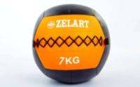 Мяч медбол для кроссфит 7 кг. Zelart Wall Ball FI-5168-7