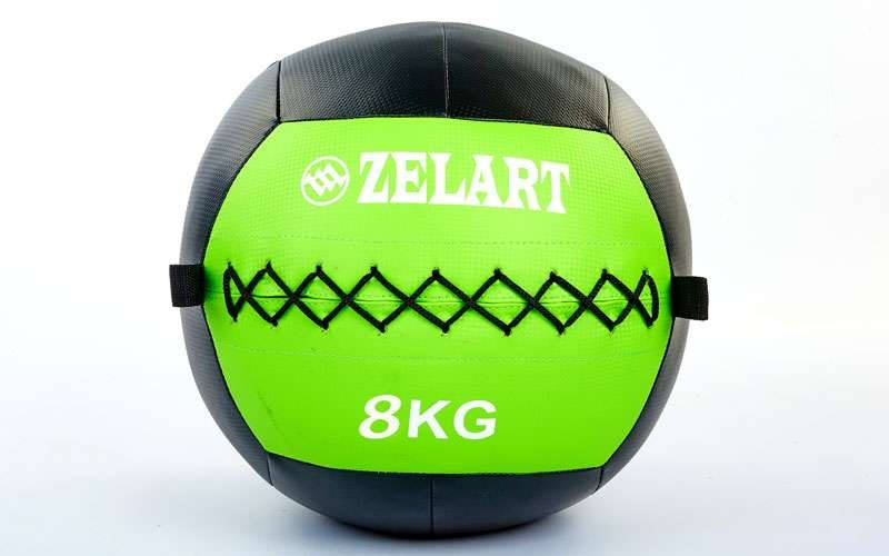 Мяч медбол для кроссфит 8 кг. Zelart Wall Ball FI-5168-8